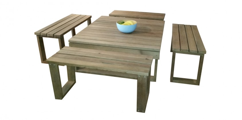 Square table 4