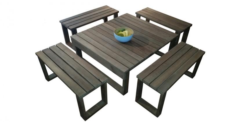Reclaimed Ironbark Table