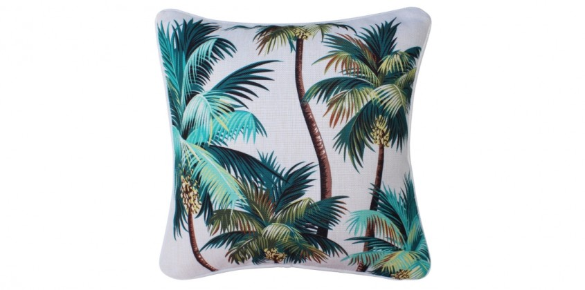 Oasis Outdoor Cushion – Palm Trees
