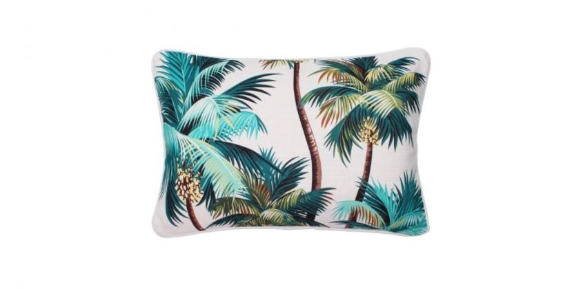 Sanctuary Indoor Cushion – Palm Trees