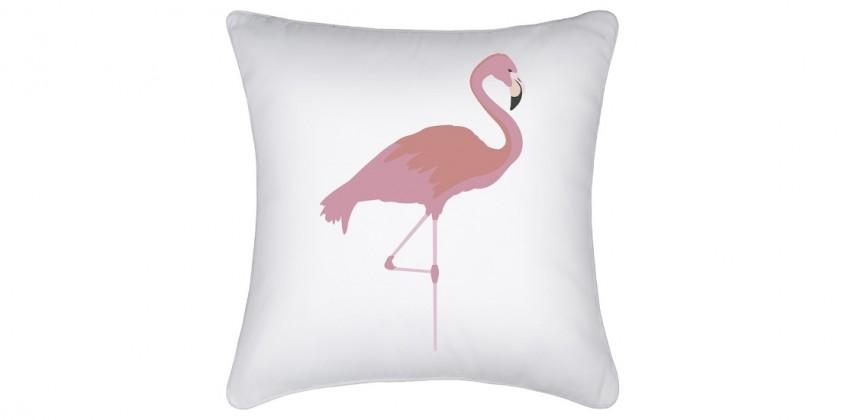 Watercolour Flamingo Indoor Cushion