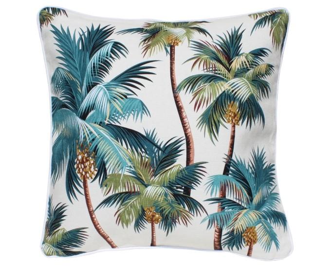 Sanctuary Indoor Cushion – Palm Trees (large)