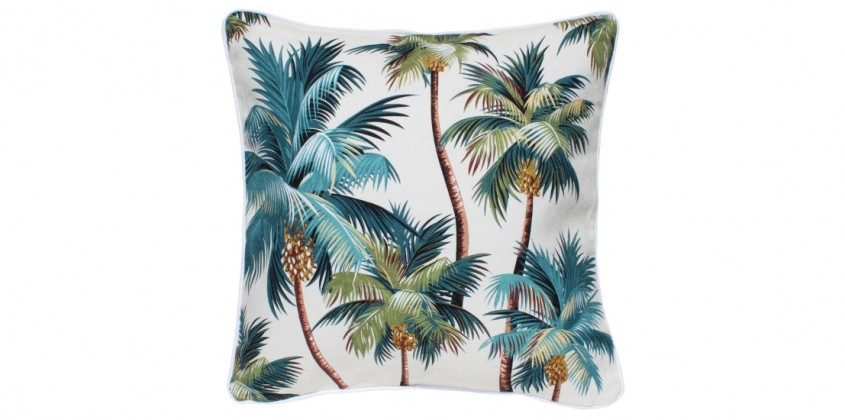 Sanctuary Indoor Cushion – Palm Trees (large)