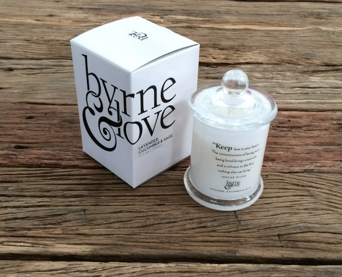 Lavender, Cucumber & Sage Candle – Mini