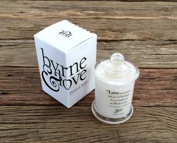 Vanilla Bean Scented Soy Candle – Mini