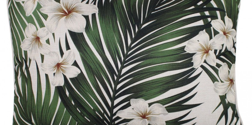 Frangipani cushions