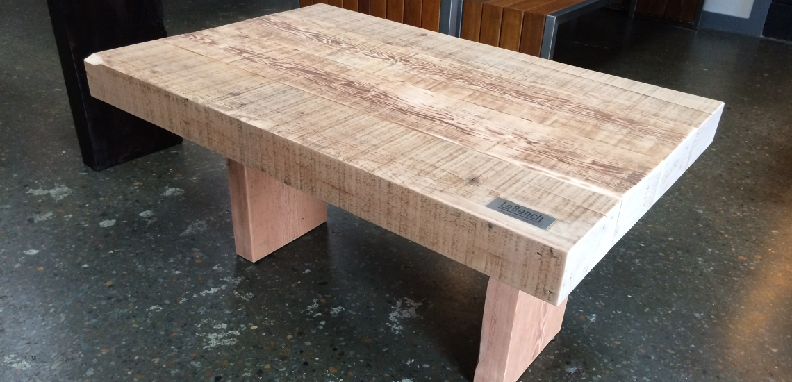 Outdoor furniture northern beaches sydney by le bench for Reclaimed wood furniture portland